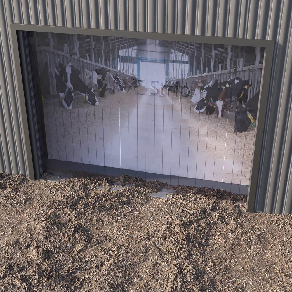 Agricultural PVC Strip Curtain kits