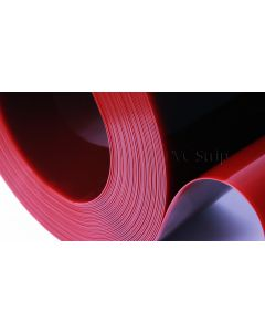 Red ISO 25980 Welding Grade PVC Rolls (Shiny Finish)