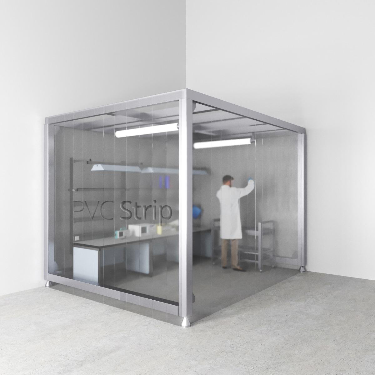 Cleanroom PVC Strip Curtains